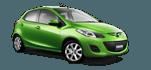 Mazda 2 (M/T, 2012-2014) - Location