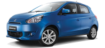 Mitsubishi Mirage (2014) - Location