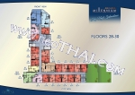 South Pattaya Arcadia Millennium Tower floor plans