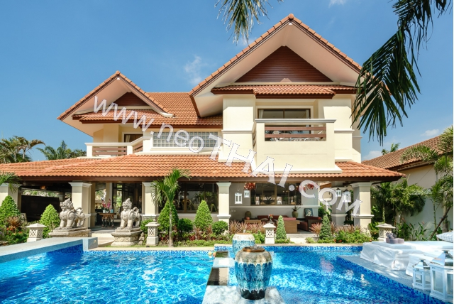 Property to Rent in Pattaya - House, 4 bedroom - 380 sq.m., 150.000 THB/month