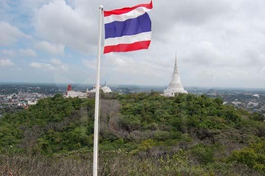 Thailand fotos: Thailand Flag