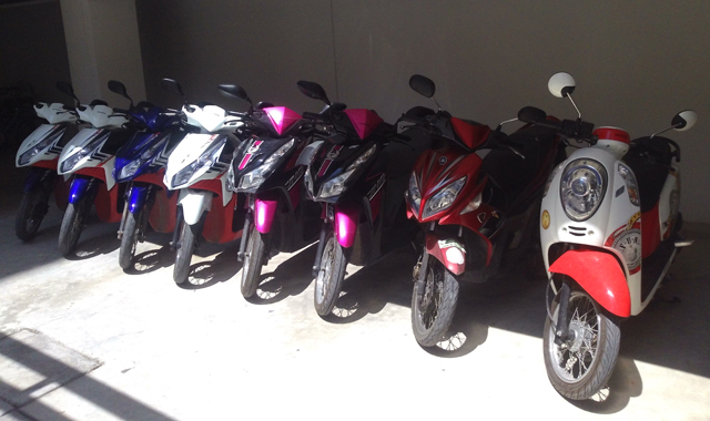 Motorbikes rental in Hua Hin