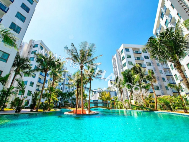 Arcadia Beach Resort Pattaya, 태국 - 아파트들, 지도