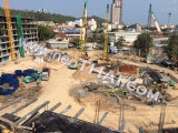 06 Oktober 2017 Arcadia Beach Resort constuction update