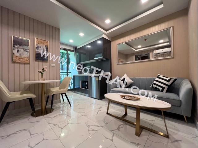 พัทยา, อพาร์ทเมนท์ - 27 ตรม; ราคาขาย - 3,000,000 บาท; อาคาเดีย เซ็นเตอร์ สูท  - Arcadia Center Suites