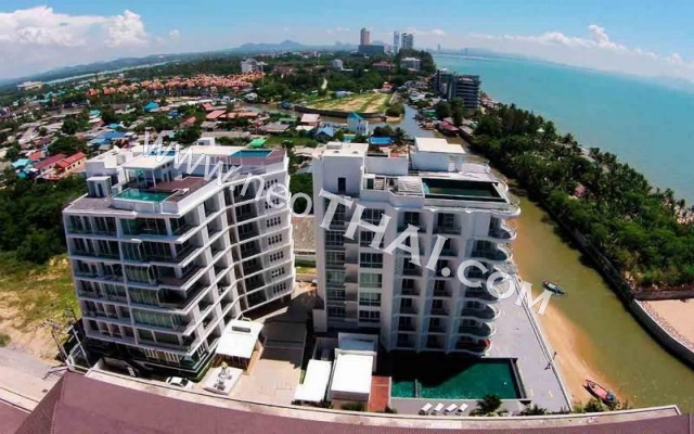 Beach Front  Jomtien Residence Pattaya Condo  - Hot Deals - Buy Resale - Price, Thailand - Apartments, Location map, address