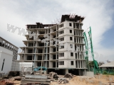 31 มกราคม 2556 Beach Front Jomtien  Residence - construction photo review
