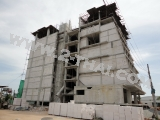 27 กันยายน 2555 Beach Front Jomtien Residence - construction photos