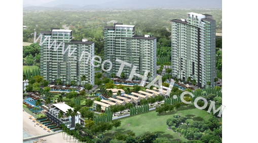 Casalunar Paradiso Pattaya Condo  - Hot Deals - Buy Resale - Price, Thailand - Apartments, Location map, address