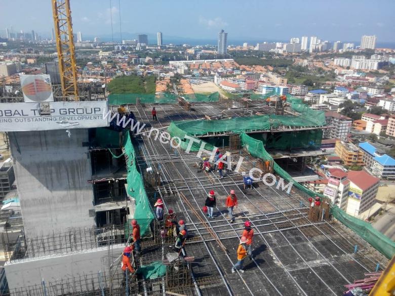 Construstion progress, March, April