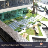 Construstion progress, December, January