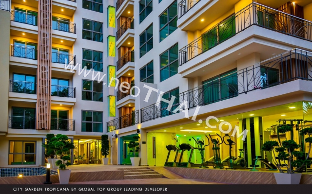 City Garden Tropicana Pattaya Condo  - Hot Deals - Buy Resale - Price, Thailand - Apartments, Location map, address