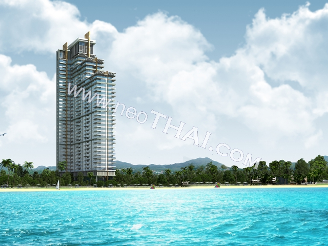 Del Mare Bang Saray Beachfront Condominium Pattaya - Hot Deals - Buy Resale - Price, Thailand - Apartments, Location map, address