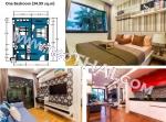 Jomtien Dusit Grand Park Pattaya units, showroom
