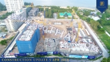 31 Toukokuu 2019 Grand Florida Beachfront Condo construction site