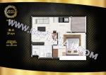 Pattaya, Apartment - 29 sq.m.; Sale price - 3.199.000 THB; Grand Solaire Pattaya