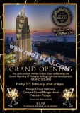 18 Februari Grand Solaire Grand Opening on Friday 21 February 2020