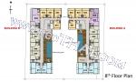 Pratamnak Hill Imperial Twins Residence floor plans