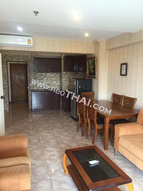 Pattaya, Apartment - 55 sq.m.; Sale price - 1.890.000 THB; Jomtien Beach Condominium
