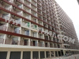10 March 2011 Jomtien Beach Condominium, painting of buildings facades