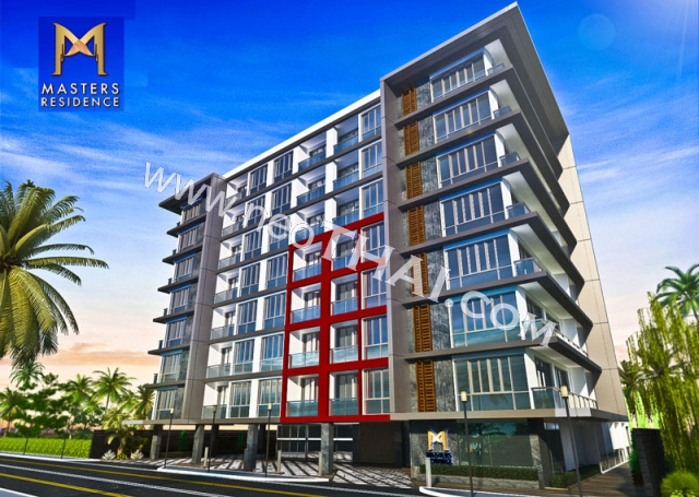 Masters Residence Pattaya Condo  - Hot Deals - Buy Resale - Price, Thailand - Apartments, Location map, address