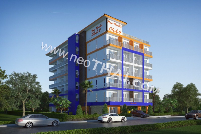 New Nordic Club 4 Pattaya Condo  - Hot Deals - Buy Resale - Price, Thailand - Apartments, Location map, address