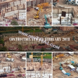 05 February 2018 City Garden Olympus construction site