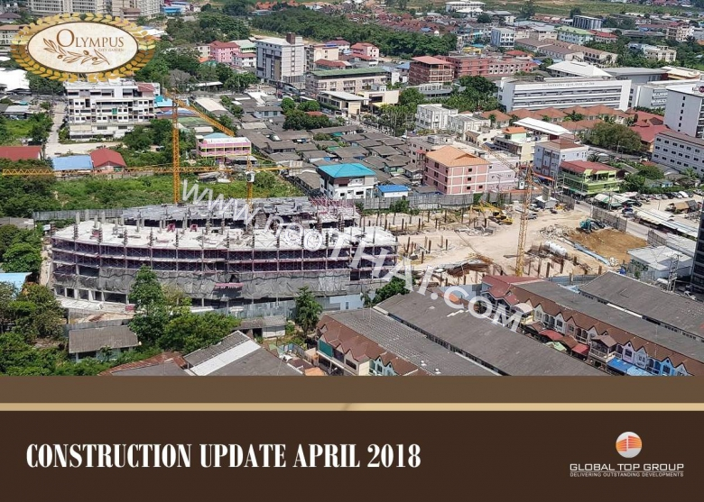 Construstion progress, March, April