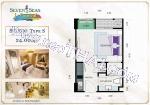 Pattaya, Studio - 24 mq; Prezzo di vendita - 1.990.000 THB; Seven Seas Le Carnival
