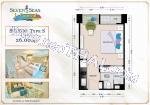 Pattaya, Studio - 24 sq.m.; Sale price - 2.300.000 THB; Seven Seas Le Carnival