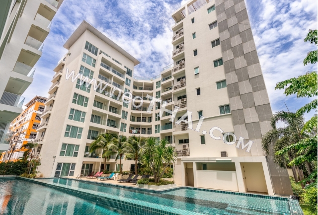 Sunset Boulevard Residence Pattaya, Thaïlande - Appartements, Maps