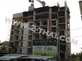 17 Décembre 2011 Sunset Boulevard Residence 2, Pattaya - 2nd building construction photo album