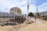 15 October 2014 The Base Condo Central Pattaya Sansiri - construction site foto