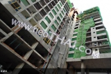 27 February 2015 The Base Condo Central Pattaya Sansiri - construction site foto