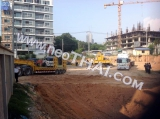 26 Novembre 2014 The Cube Condo - construction site foto
