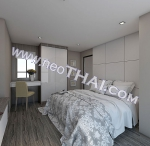 Pattaya, Apartment - 64.2 sq.m.; Sale price - 4.800.000 THB; The IVY Jomtien