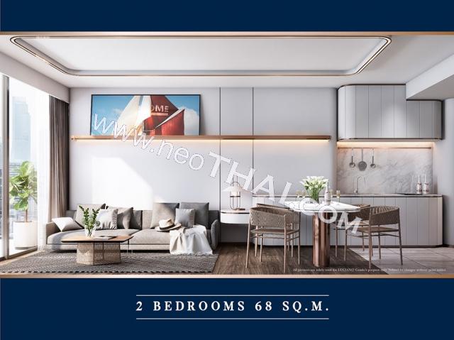 Pattaya, Apartment - 68 sq.m.; Sale price - 7.080.000 THB; The Luciano Pattaya