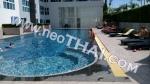 芭堤雅, 两人房间 - 27 m²; 出售的价格 - 930.000 泰銖; The Novana Residence