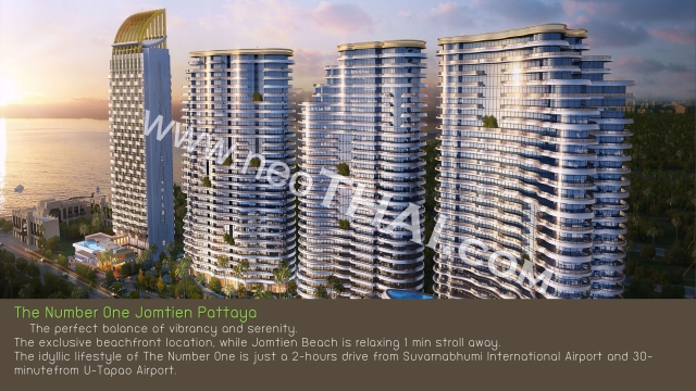 The Number One Jomtien Pattaya Condo  - Hot Deals - Buy Resale - Price, Thailand - Apartments, Location map, address