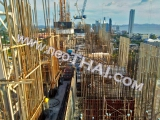 19 February 2017   The Riviera Jomtien Condo construction site