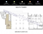 Wong Amat The Riviera Wongamat Beach South Tower A floor plans