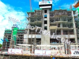 16 September 2016 The Riviera Wongamat Beach Condo construction site