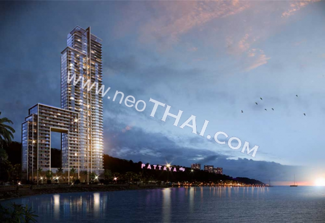 Waterfront Suites and Residences Pattaya Condo  - Hot Deals - Buy Resale - Price, Thailand - Apartments, Location map, address