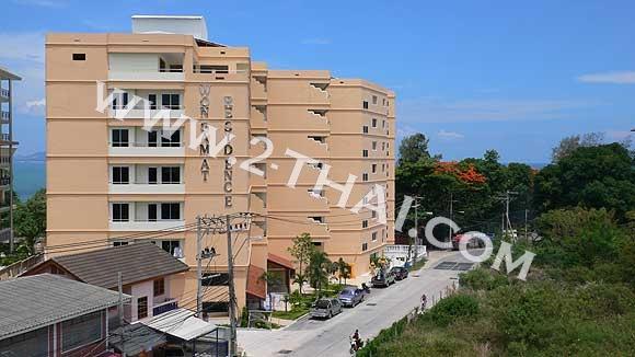 Wongamat Residence Condominium 파타야, 태국 - 아파트들, 지도
