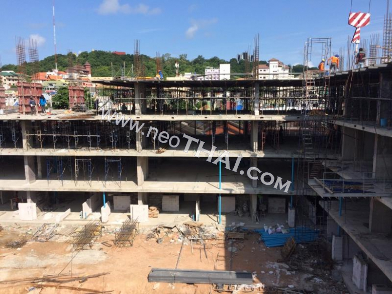Construstion progress, July, August