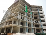 25 June 2011 Beach Front Jomtien Residence - fresh photo review of the project construction