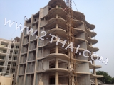 19 February 2013 Beach Front Jomtien  Residence - construction photo review