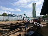 16 Januar 2021 Copacabana Beach Jomtien construction site