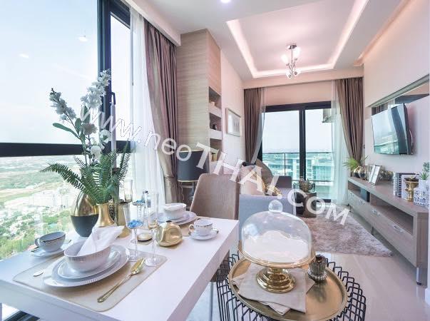 芭堤雅, 公寓 - 44.5 m²; 出售的价格 - 3.490.000 泰銖; Dusit Grand Condo View