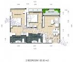 Dusit Grand Park 2 - Leilighet 7979 - 4.480.000 THB